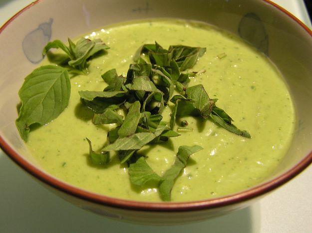 Cucinare le zucchine: minestre e zuppe