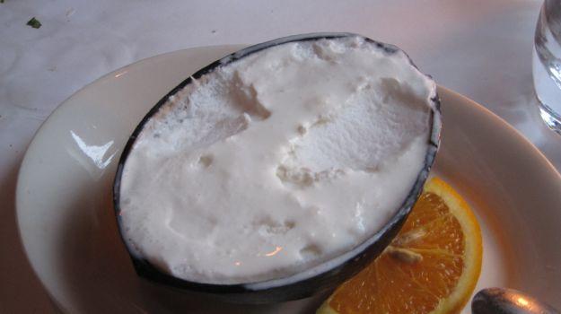Sorbetto al cocco