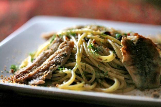Spaghetti con il pesce
