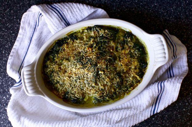 Spinaci al forno