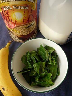 Duetto di spinaci e banane