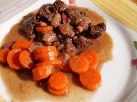 Stufato con le carote