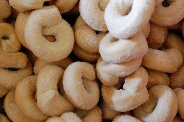 Taralli pugliesi con lo zucchero