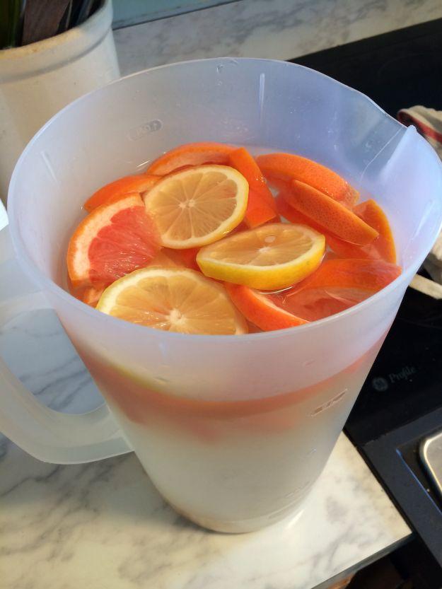 Tè freddo agli agrumi