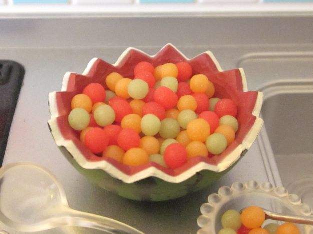Terrine di anguria e melone