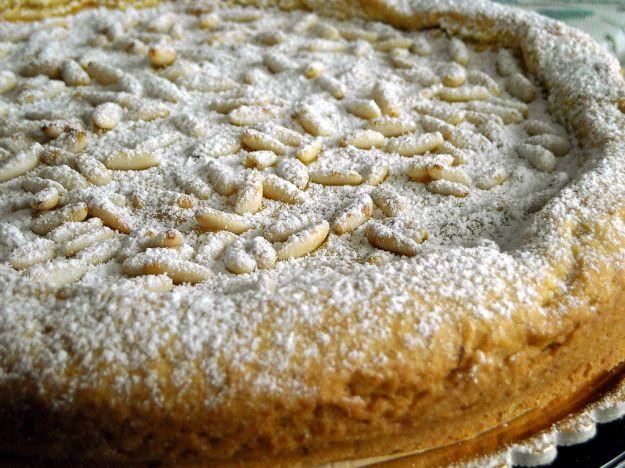 torta con pinoli