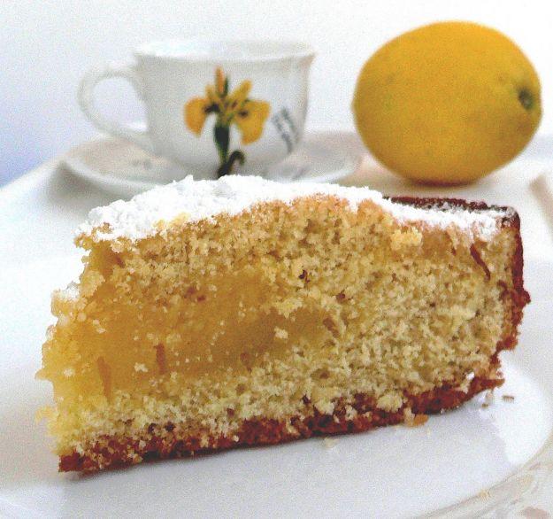 Torta Pesach al limone
