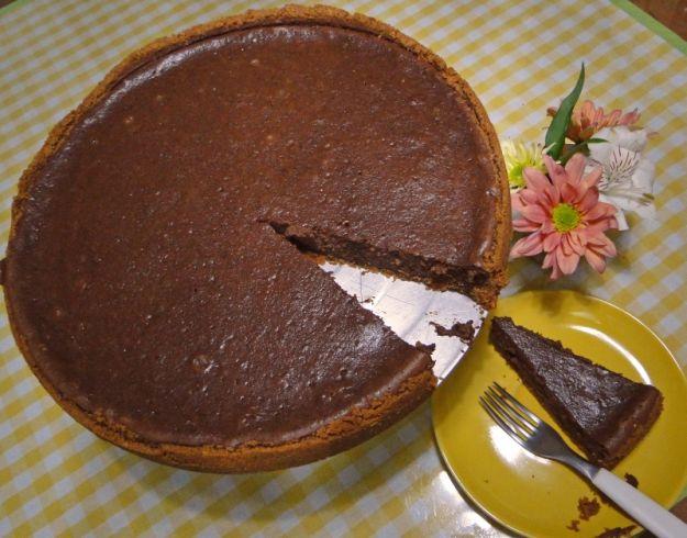 torta di ricotta al cioccolato