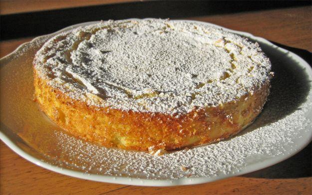 torta di semolino e yogurt