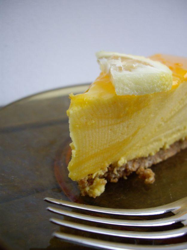 Torta mousse al limone