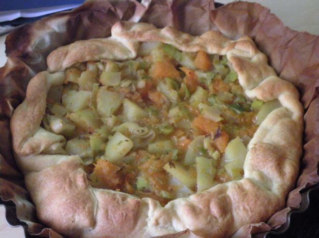 Torta salata alle patate