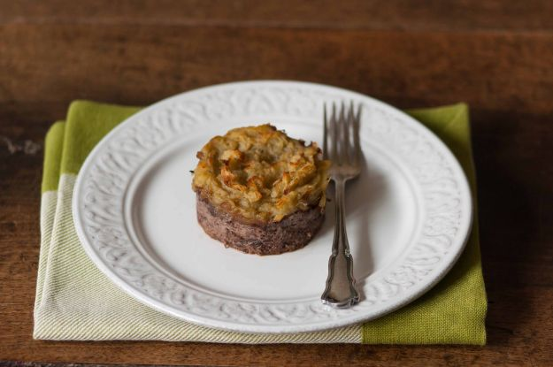 tortino patate radicchio