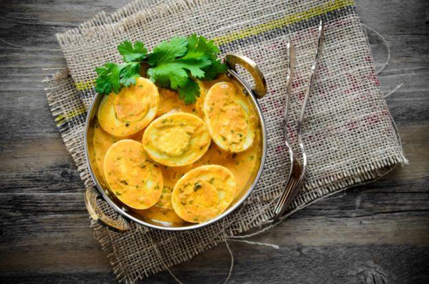 Uova al curry