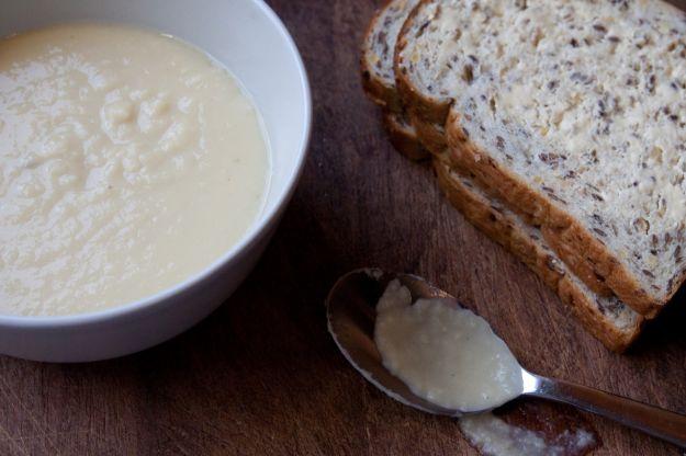 Zuppa di cavolo e mele