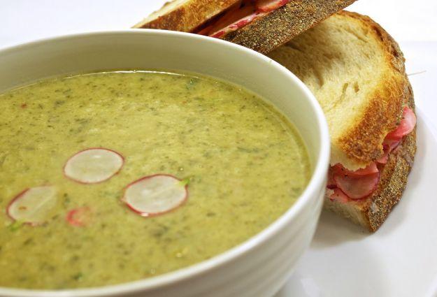 Zuppa di ravanelli