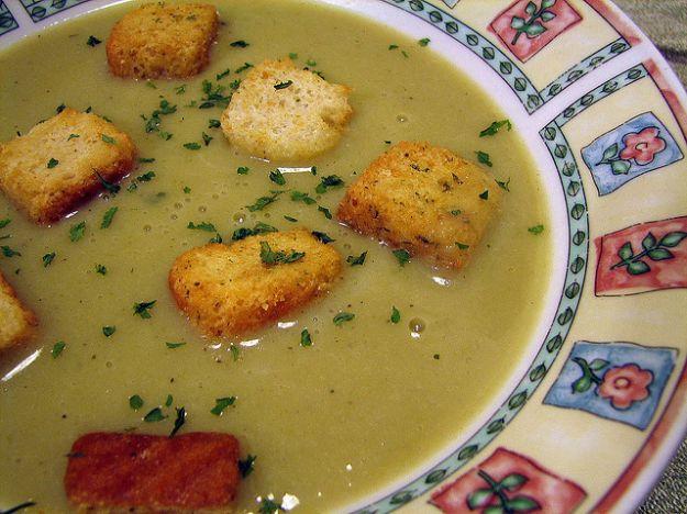 Zuppa invernale di verdure al Gorgonzola